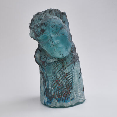 Irene Frolic, 'Listener sculptural bust from the Labyrinth  series', 1992