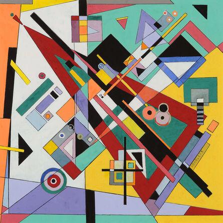 Rolph Scarlett, 'Abstraction', ca. 1945