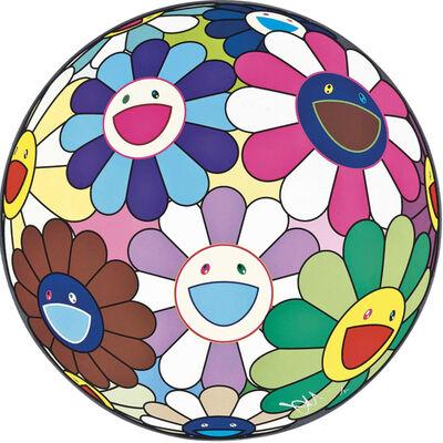 Takashi Murakami, 'Dumpling - Flowerball', 2013