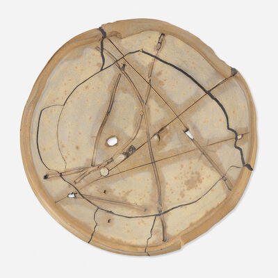 Peter Voulkos, 'Untitled Plate', 1980