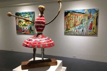 DONALD SAAF Outside and Inside: Paintings, Illustrations, Sculptures