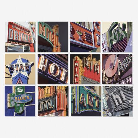 Robert Cottingham, 'American Signs portfolio', 2009