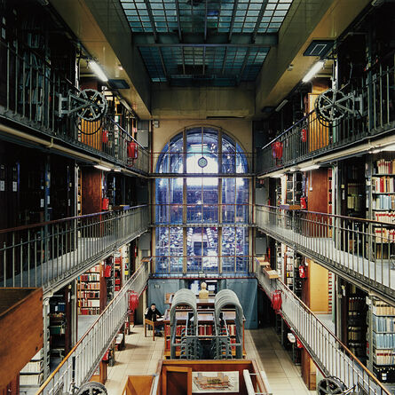 Candida Höfer, 'Bibliothèque Nationale de France Paris XV', 1998