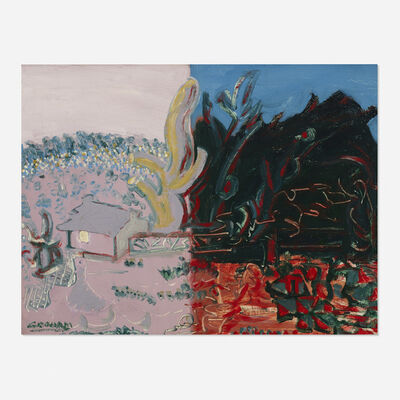 John Graham, 'Untitled (Landscape)', c. 1945