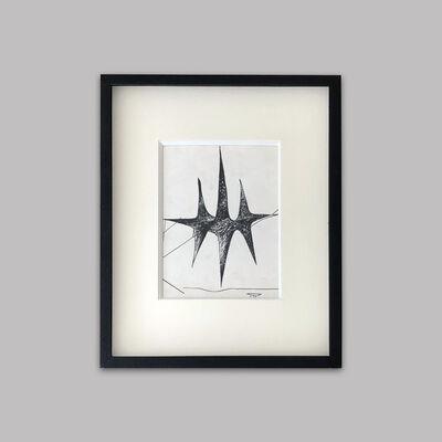 Roberto Matta, 'Untitled (Study for the Prisoner of Light)', 1939-1943