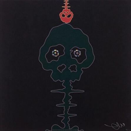 Takashi Murakami, 'Time Bokan (Black)', 2011