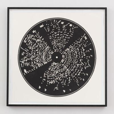 Terry Adkins, 'Untitled (Metal Music Box Disc Print)', 2001