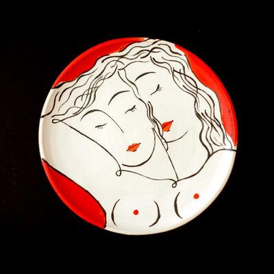 Louis Thomas, 'Red couple 4', 2019