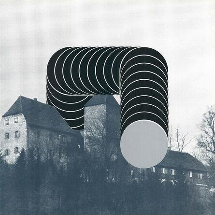 Thomas Lenk, 'Sculpture on Castle', 1975