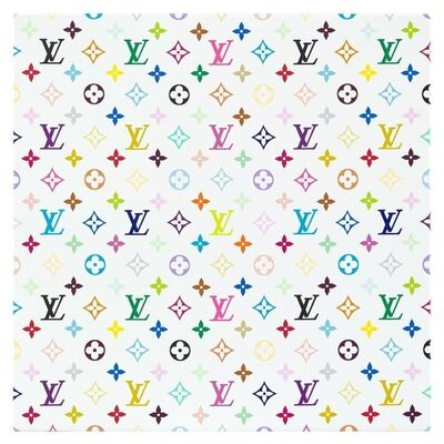 Takashi Murakami, 'Takashi Murakami x Louis Vuitton Monogram Multicolore - White', 2007