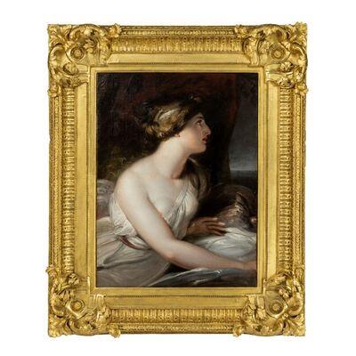 Richard Westall, 'Emma, Lady Hamilton as Ariadne by Richard Westall R.A.', ca. 1802