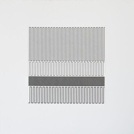 Vera Molnar, 'Quelques lignes à julije', 2007-2013