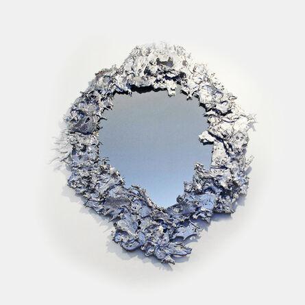 Helene de Saint Lager, 'Déchiqueté Mirror', 2015