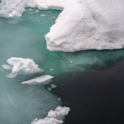 John Ruppert, 'Pack Ice Drift #22 / High Arctic, Svalbard, Norway', 2019-2021