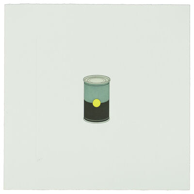 Michael Craig-Martin, 'The Catalan Suite II - Soup Can', 2013