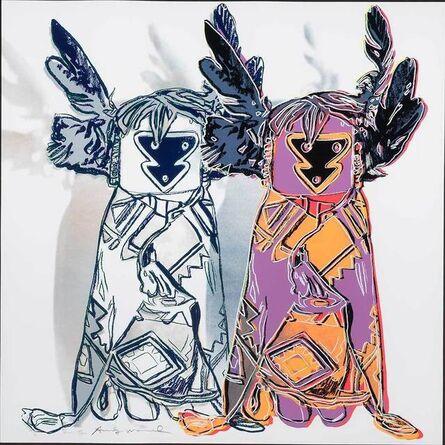Andy Warhol, 'Kachina Dolls (F./S. Ii.381)', 1986
