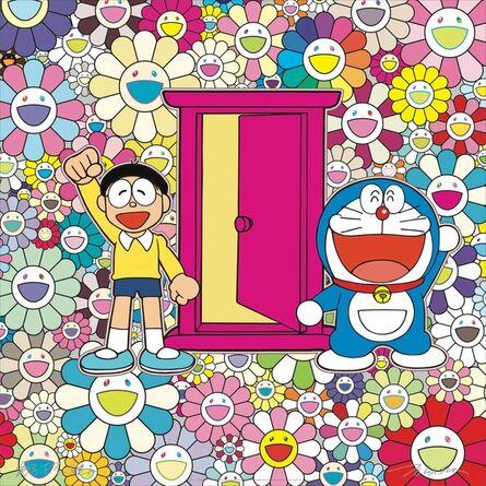 "Takashi Murakami, 'I came to the flower garden at ""Everywhere Door""!', 2018"