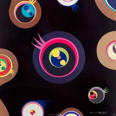 Takashi Murakami, 'Jellyfish eyes - black 1', 2004
