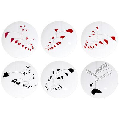 Alexander Calder, 'Set of 6 dinner plates', 2015