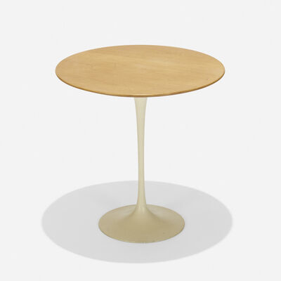 Eero Saarinen, 'Occasional table, model 163W', 1957