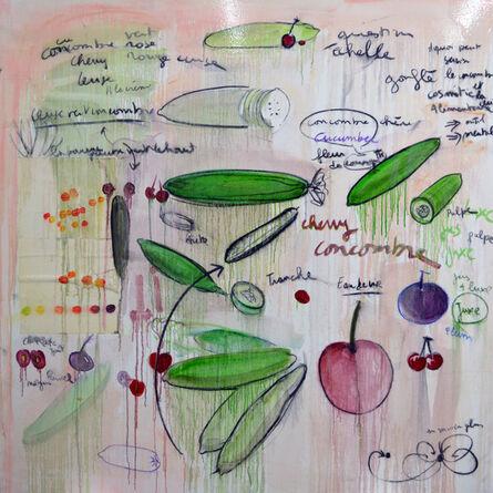 Fabrice Hyber, 'Cherry Concombre', 2016