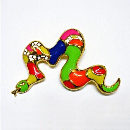 Niki de Saint Phalle, 'Brooch (Serpent)'