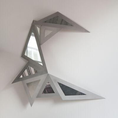 Alexis Hayère, 'Peinture triangulée T00', 2019