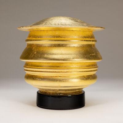 Richard Notkin, 'Profilo Continuo del Trumpolini (gold leaf)', 2019