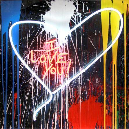Mr. Brainwash, 'I Love You!', 2017