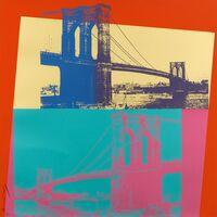 Andy Warhol, 'Brooklyn Bridge, II.290', 1983