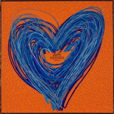 Stephen Wilson, 'Hermes Heart Scribble', 2020