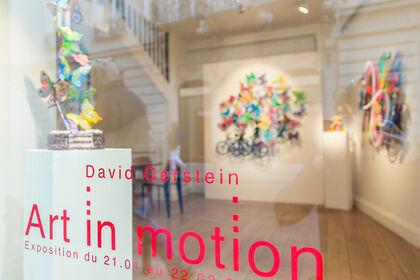 """Exposition """"Art in Motion"""" David Gerstein"""