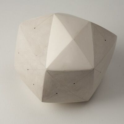 Nadia Pasquer, 'Polyèdre blanc', 2014