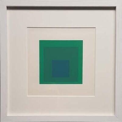 Josef Albers, 'Emeraude (from Soft Edge-Hard Edge)', 1965