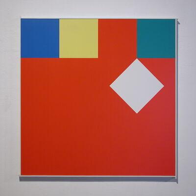 Camille Graeser, 'dislokation', 1972