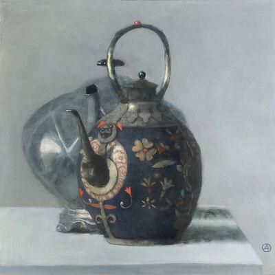 Olga Antonova, 'Blue Chinese Teapot', 2020