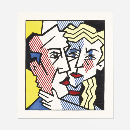 Roy Lichtenstein, 'The Couple (from the Expressionist Woodcut series)', 1980