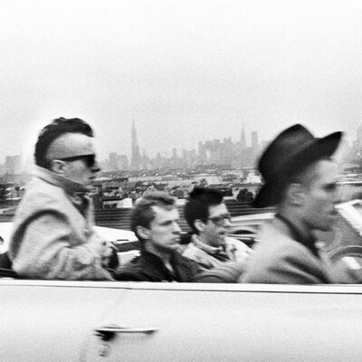 Bob Gruen, 'Clash, in car, NYC', 1982