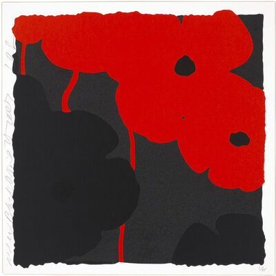 Donald Sultan, 'Red and Black, April 25, 2007', 2007