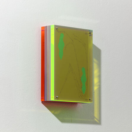 Francesco Candeloro, 'Linee Riflesse 64', 2016
