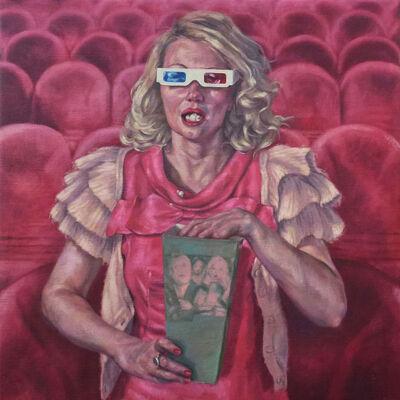 Roxana Halls, 'Popcorn', 2014