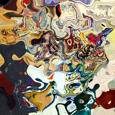 Daniel Canogar, 'Amalgama II (Kandinsky)', 2019