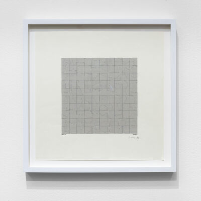 Manfred Mohr, 'P-082-A', 1971