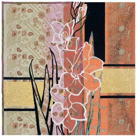 Robert Kushner, 'White Gladiolus - Rainbow Sherbert', 2017