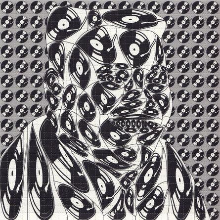 Thomas Bayrle, 'Fats Domino', 2014