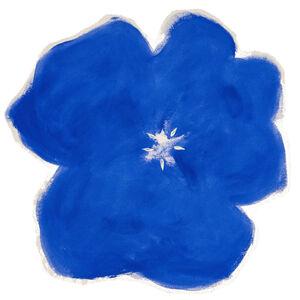 Pat Service, 'Pansy-Blue', 2020