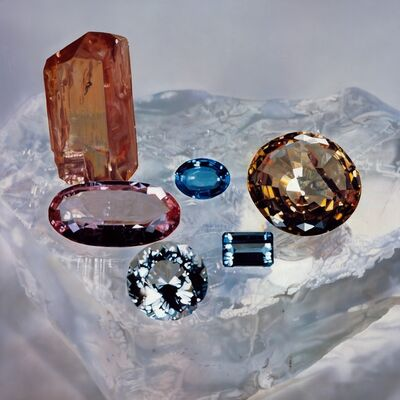 Damien Hirst, 'Cut Gemstones', 2002-2003