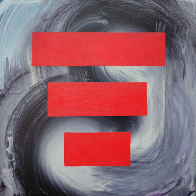 Catherine Gontarek, 'Tornado Red', 2021