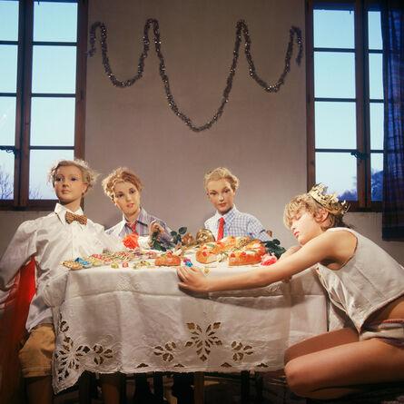 Bernard Faucon, 'Le goûter des rois', 1978