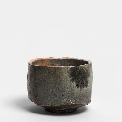 Tanimoto Kei, 'Raku chawan (Raku tea bowl), iga aka-raku chawan ', 2013